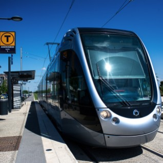 Ecoquartier Andromède - Tramway