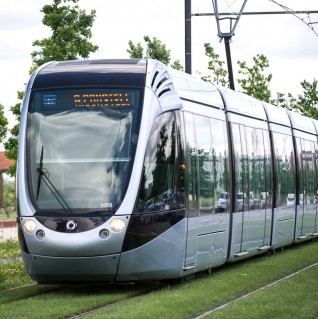 Ecoquartier Andromède - Travailler - Tramway